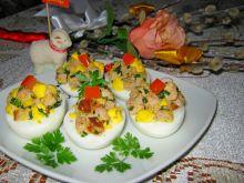 Jajka wielkanocne z pieczenią