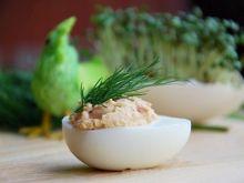 Jajka z żurawiną