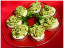 Jajka z brokułem