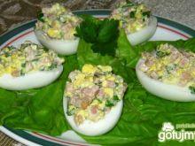 Jajka z farszem.