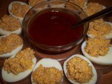 Jajka z farszem mięsnym
