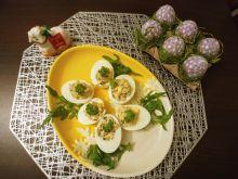 Jajka z farszem z tuńczyka i groszku