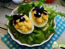 Jajka z kalafiorowym nadzieniem