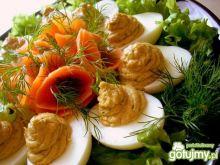 Jajka z pasztetem