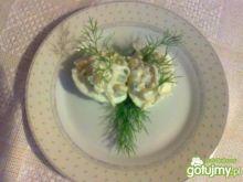 Jajka z sałatkowym farszem wg Megg