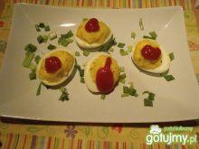 Jajka z serem feta
