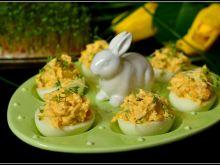 Jajka z serem i kukurydzą