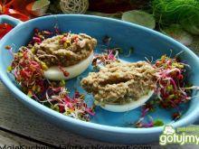 Jajka z soczewicą