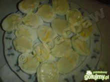 Jajka z sosem majonezowo-musztardowym