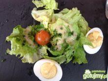 Jajka z sosem majonezowym 4