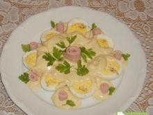 Jajka z sosem musztardowym