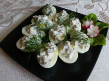 Jajka z sosem tatarskim