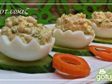 Jajka z warzywną nutką