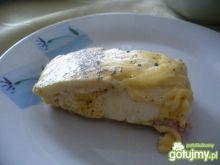 Jajka zapiekane na szynce