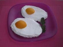Jajko sadzone w wersji na słodko