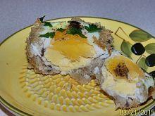 Jajko zapiekane w chlebie w kokilce