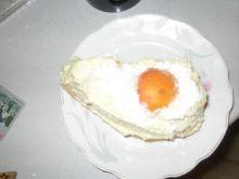 Jajo sadzone - ciasto