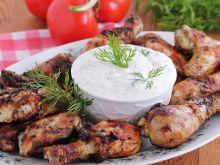 Miodowy kurczak z grilla