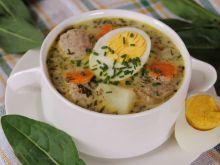 Szczawiowa zupa