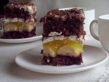 Jamajka - ciasto z bananami