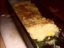 Jarmuż zapiekany pod ziemniakami