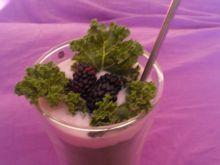 Jarmużowy deser witaminowy