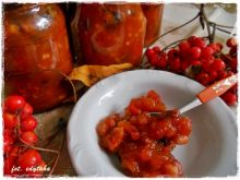 Jarzębinowy chutney do mięs