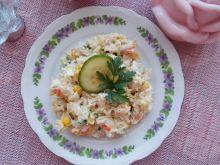 Jarzynowa sałatka ryżowa
