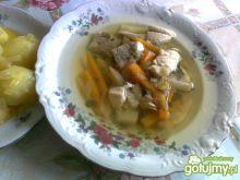 Jarzynowa zupa rybna