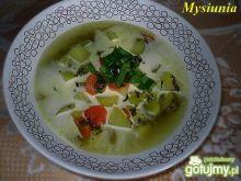 Jarzynowa zupa ze szczawiem