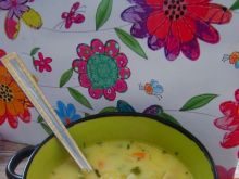 Jarzynowa zupka zasmażana