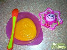 Jarzynowy krem dla niemowlaka
