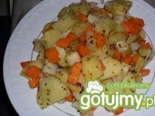 Jarzyny z ziemniakami z parowaru