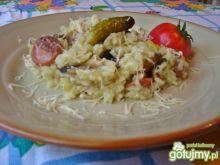 Jednogarnkowe danie z ryżu