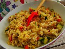Jednogarnkowe danie z ryżu i mięsa mielonego