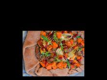 Jedzonka kaszubska – zapiekanka z dynią i grzybami