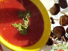 Jesienna zupa buraczkowa
