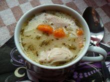 """Jesienna zupa na """"rosole"""""""