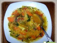 Jesienna zupa Ogrodowe ostatki