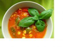 Jesienna zupa paprykowa z sosem słodko-kwaśnym