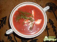 Jesienna zupa z buraczkiem