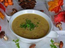 Jesienna zupa z maślaków