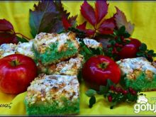 Jesienne ciasto z jabłkami