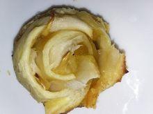 Jesienne zawijasy - jabłkowe różyczki