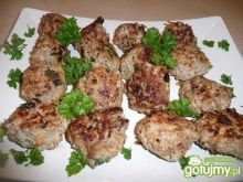 Jeżyki z mięsa mielonego i marchewki