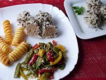 Jeżyki z mięsa mielonego i ryżu basmati