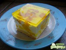 Jogurtowa brzoskwinka Wielkanocna