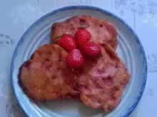 Jogurtowe placuszki z truskawkami