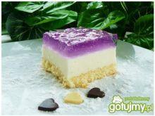 Jogurtowe pod fioletową taflą