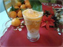 Jogurtowo-makowy koktajl z klementynką